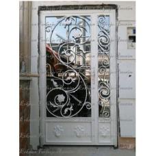 Ferforje Apartman Giriş Kapısı 001